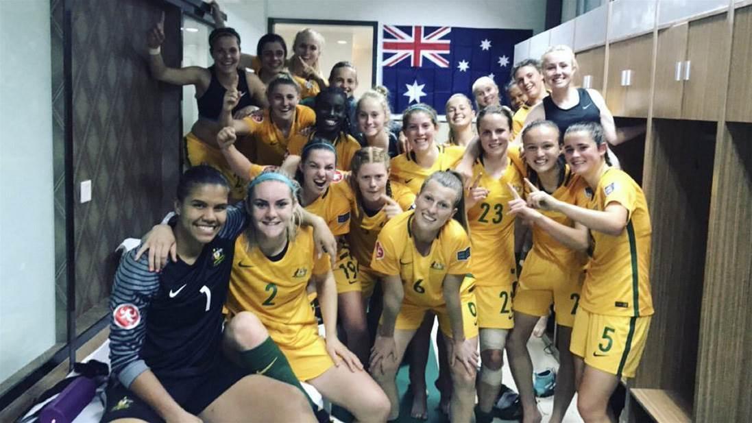 Young Matildas off to winning start