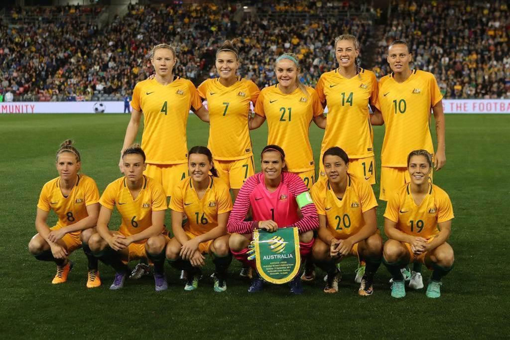 Matildas win women's Team of the Year