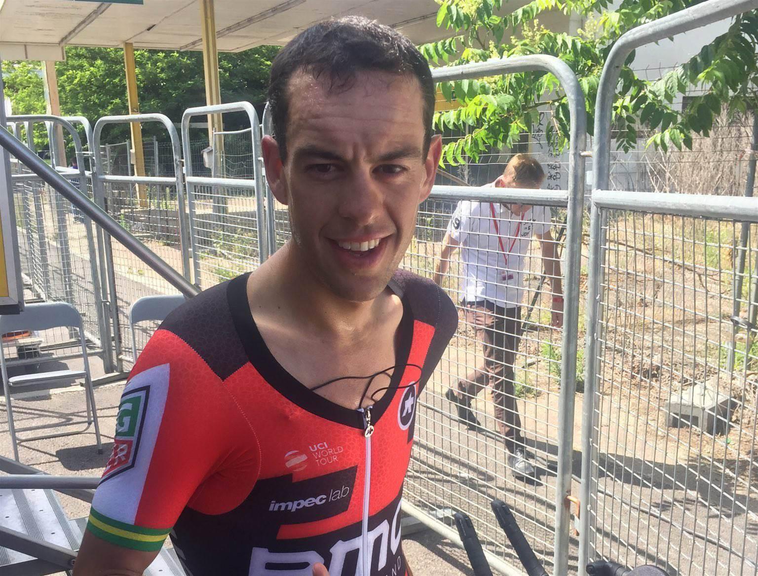 Porte returns to racing after Tour de France crash