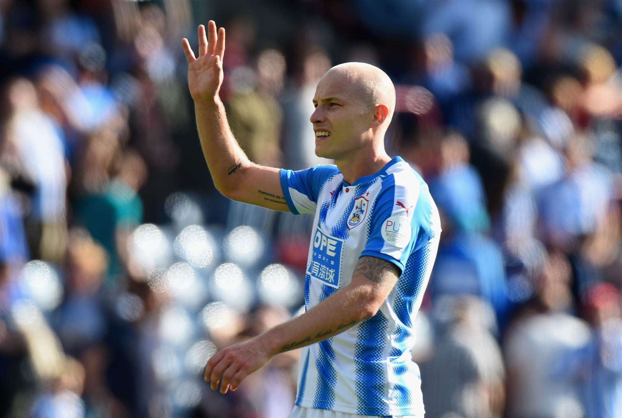 Mooy ready to mix it with Man Utd
