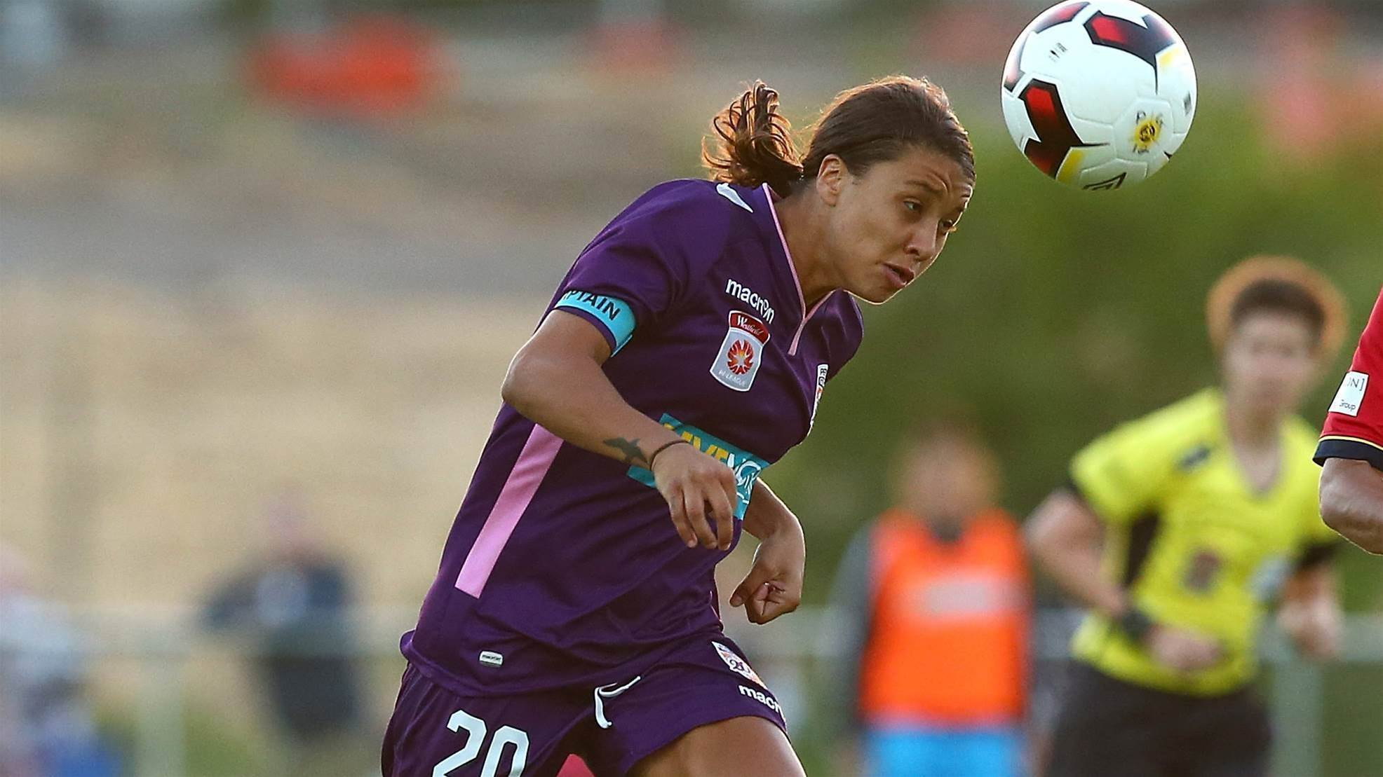 Kerr challenges fans to attend the W-League