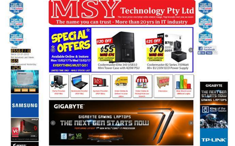 Online reseller MSY Technology fined $750,000 for misrepresenting customer guarantees