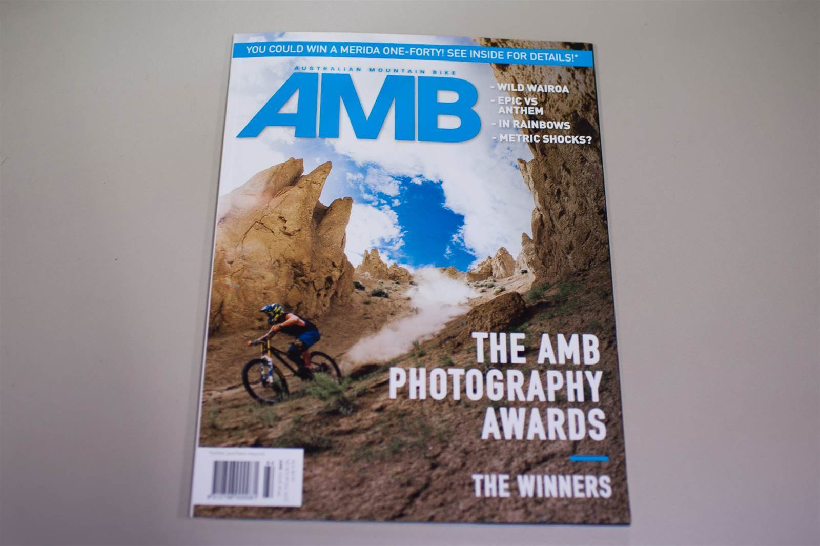Take a look inside AMB Issue #164