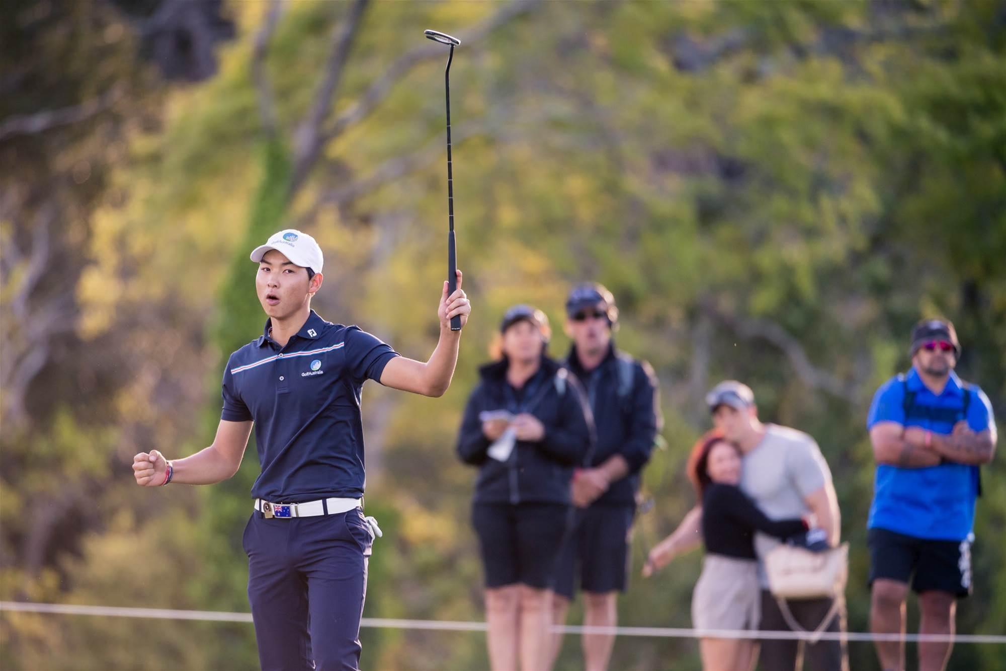 Lee surges into Asia-Pacific Amateur lead
