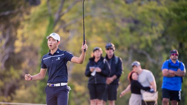 Lee surges into Asia-Pacific Amateur lead