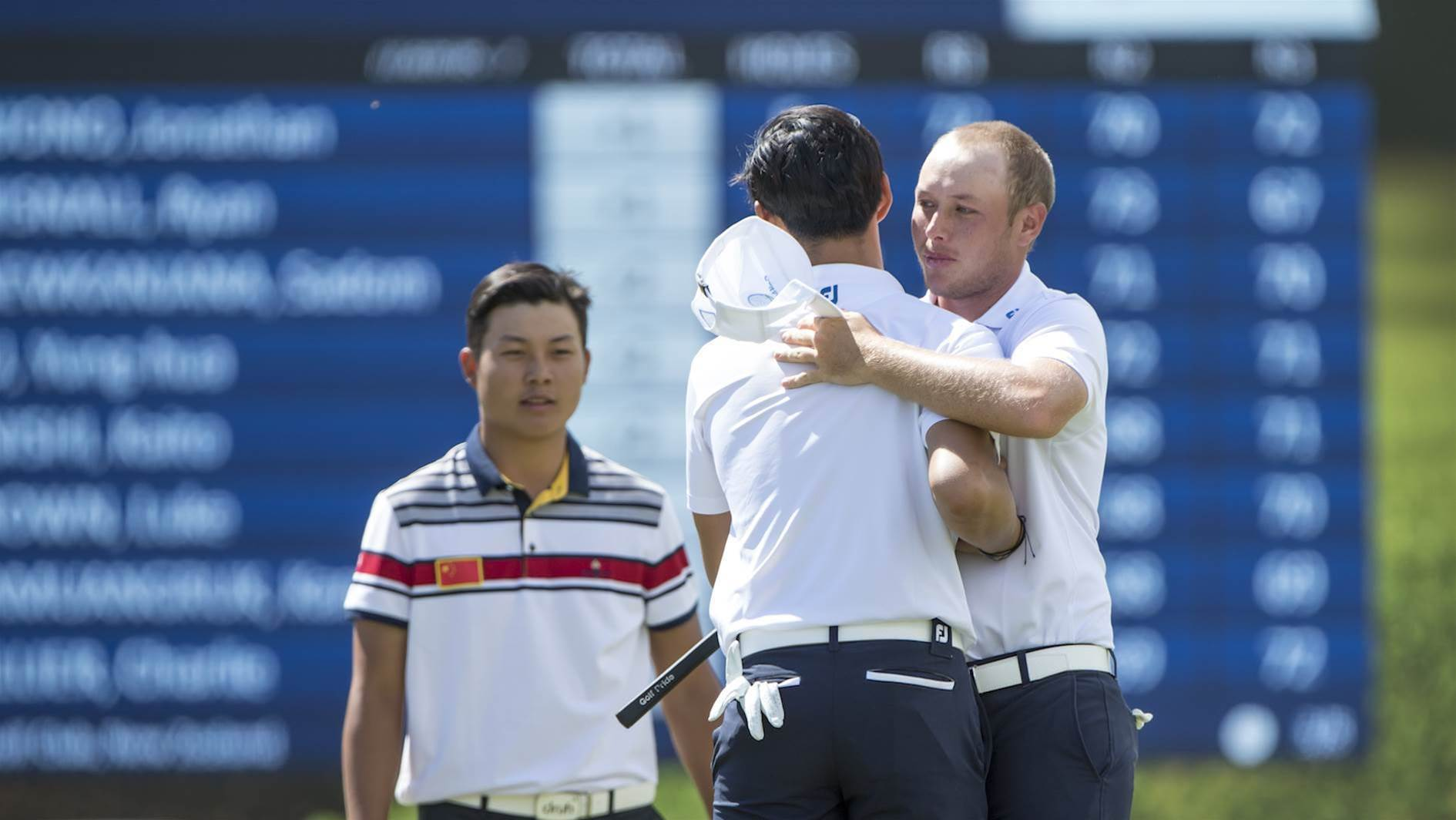 Aussie pair well poised for run at Asia-Pacific Amateur title
