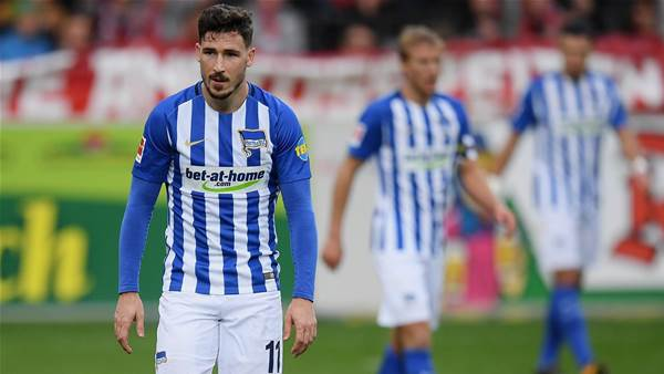 Hertha: No injury miracle for Leckie