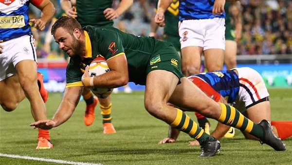 Graham's four-try haul sets up Roos win