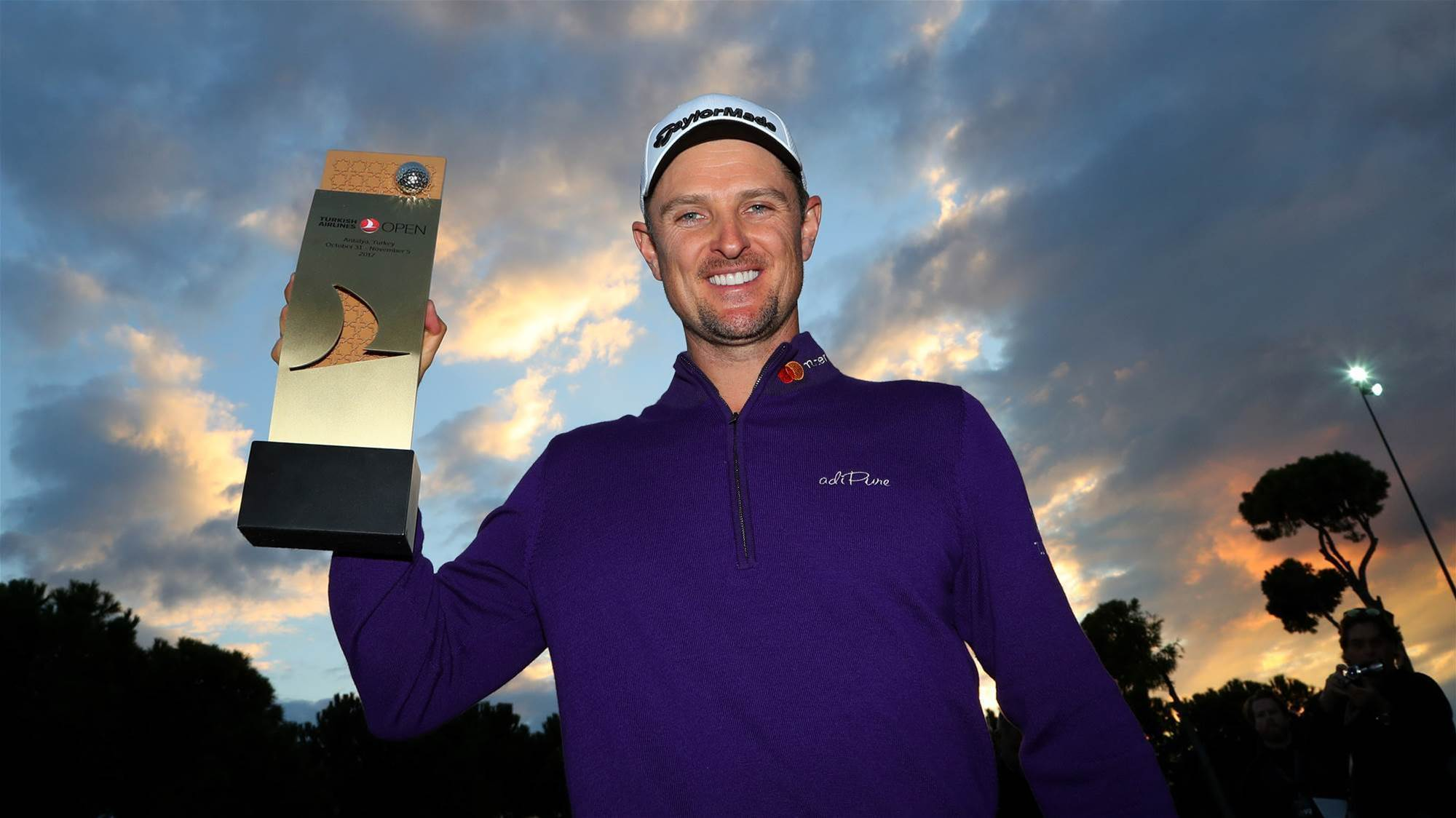 EURO TOUR: Rose wins for Turkish delight