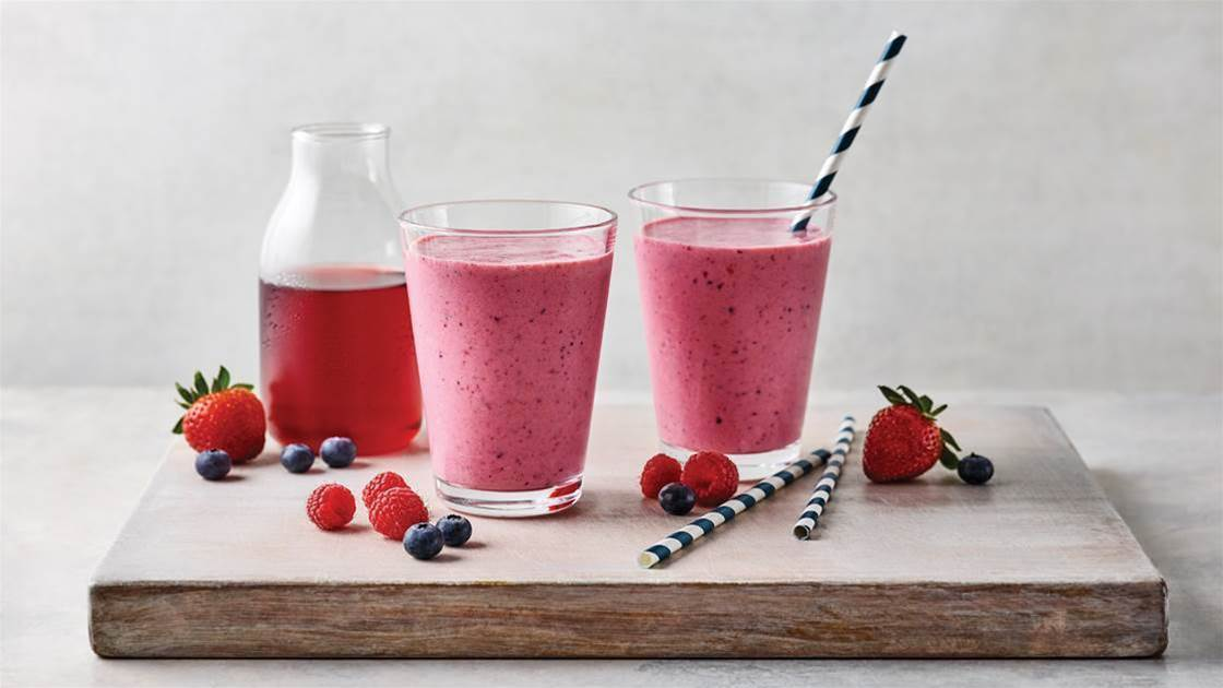 Easy Berry Smoothie Recipe