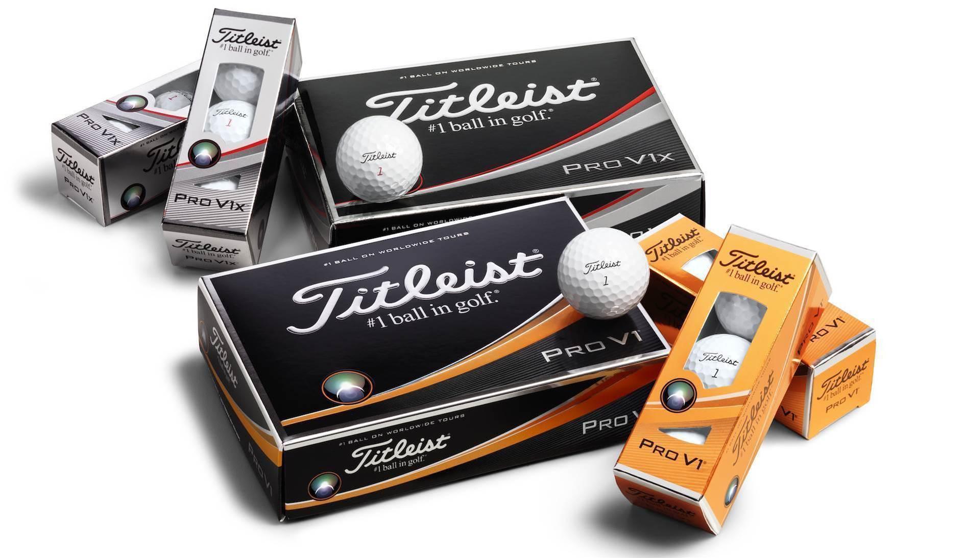 NEW GEAR: Titleist unveils 2017 Pro V1 & Pro V1x balls