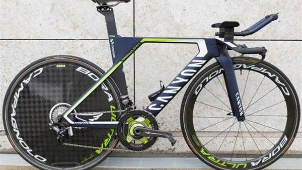 The time trial bikes of the Tour de France