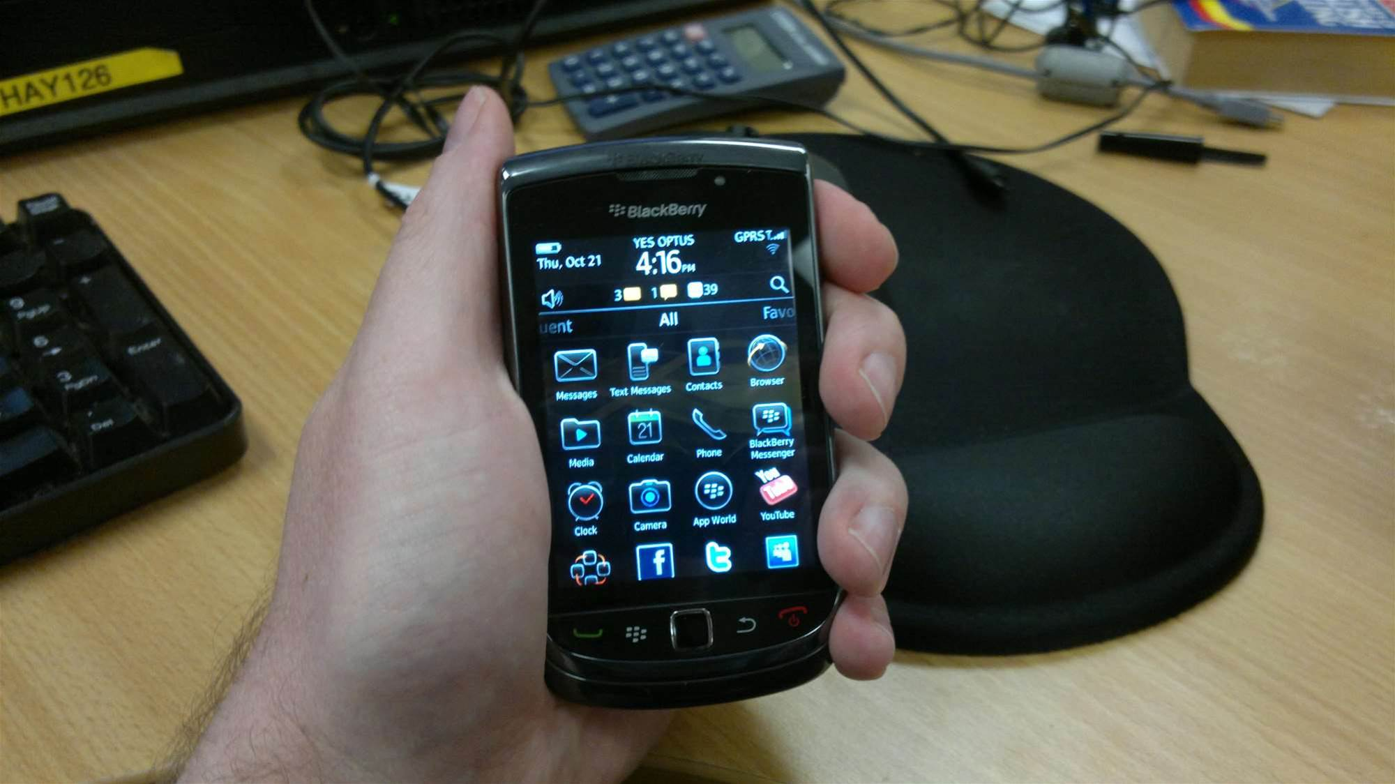 Hands-on: Blackberry Torch 9800