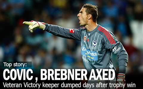 Covic, Brebner Axed By Ange At Victory