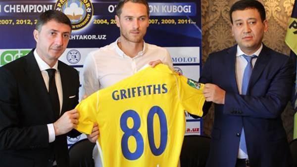 Griffiths completes Uzbek deal