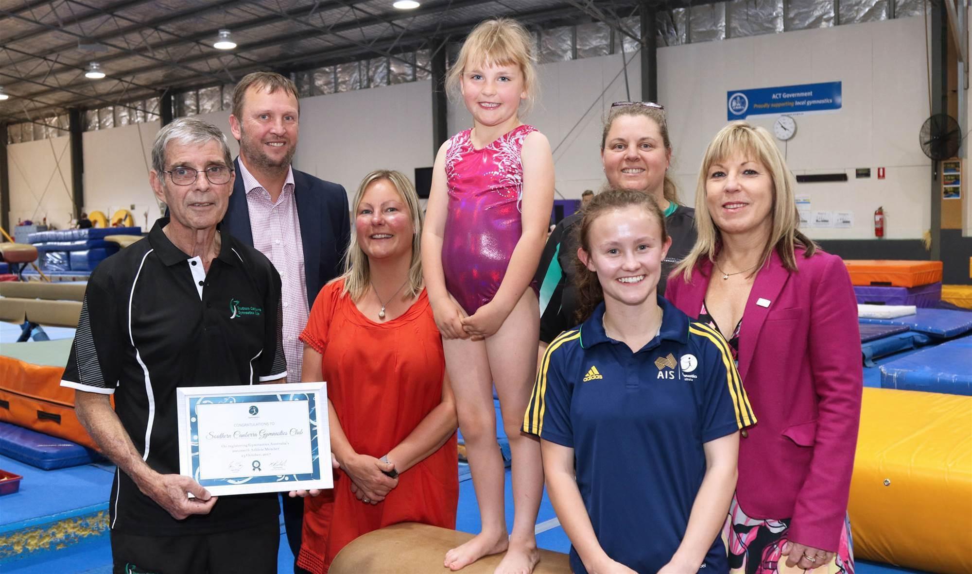 Aussie gymnasts set a new high bar