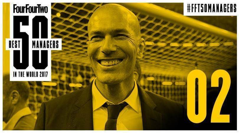 FourFourTwo's 50 Best Football Managers in the World 2017: No.2, Zinedine Zidane