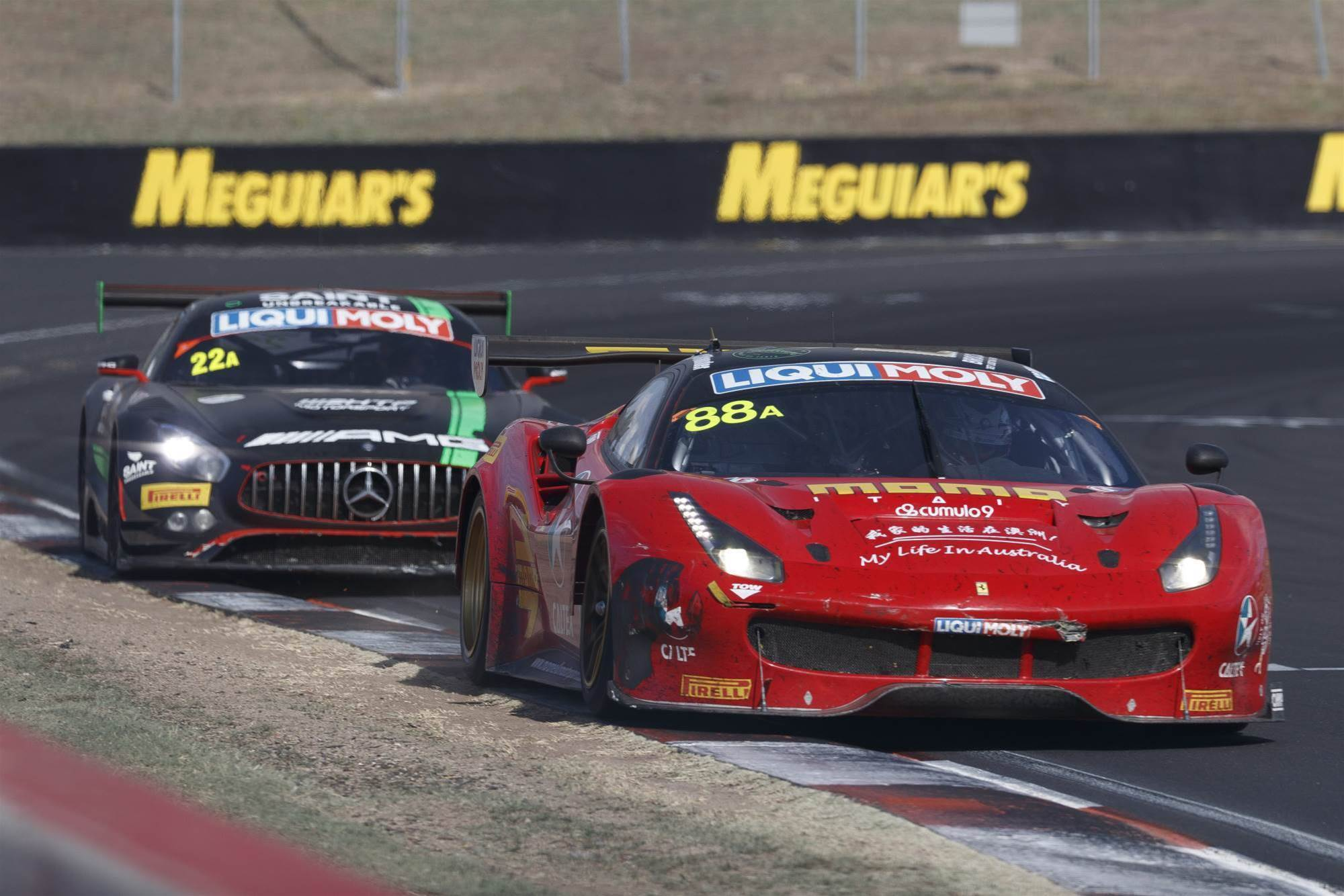 Ferrari team aims for back-to-back Bathurst wins