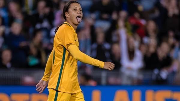 Sam Kerr: The fear that my next game could be my last drove me to success