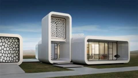 Dubai plans 3D-printed fully functional office