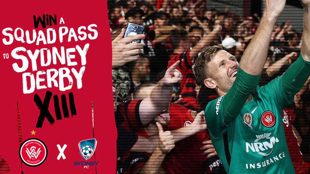 Win a Squad Pass to the Sydney Derby!!!