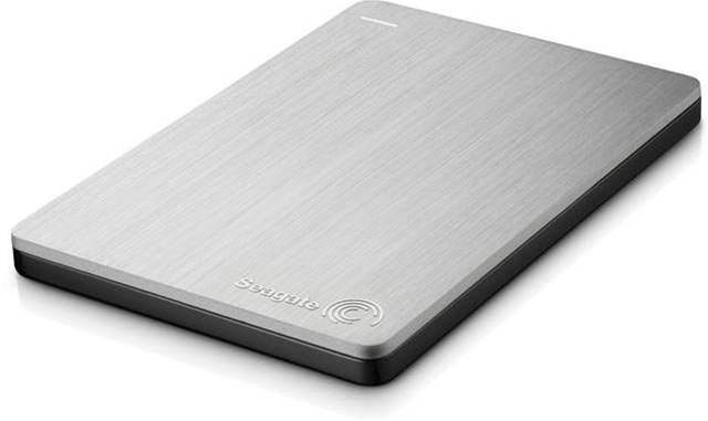 Seagate's 500GB slim portable drive is small enough to slip into a pocket