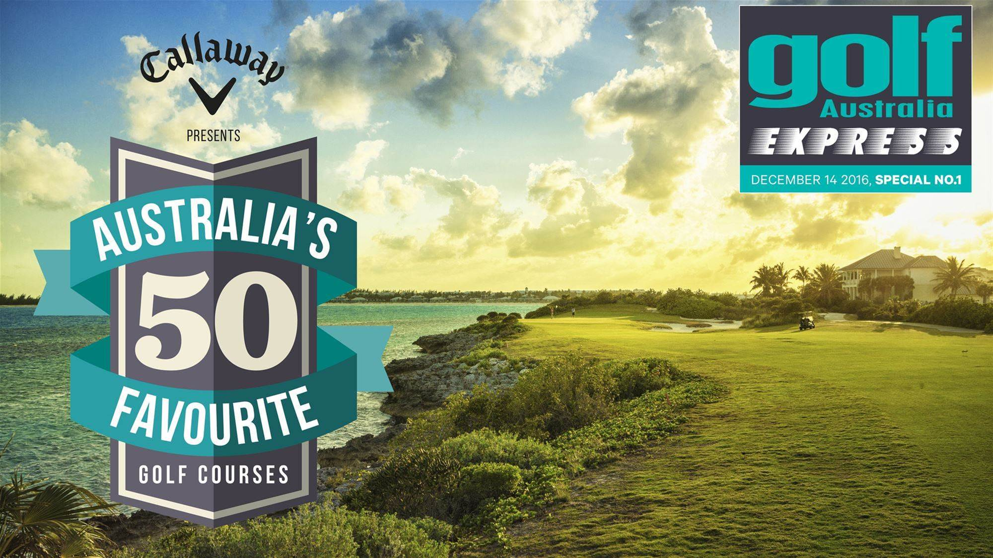 Australia's 50 Favourite Courses revealed