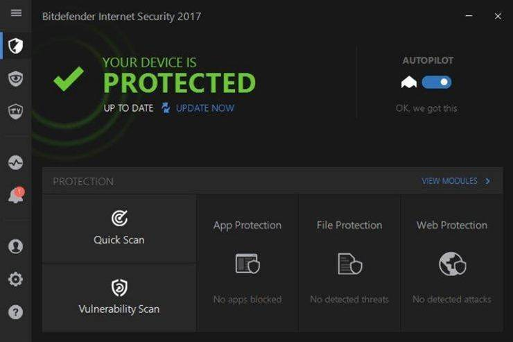 Review: Bitdefender Internet Security 2017