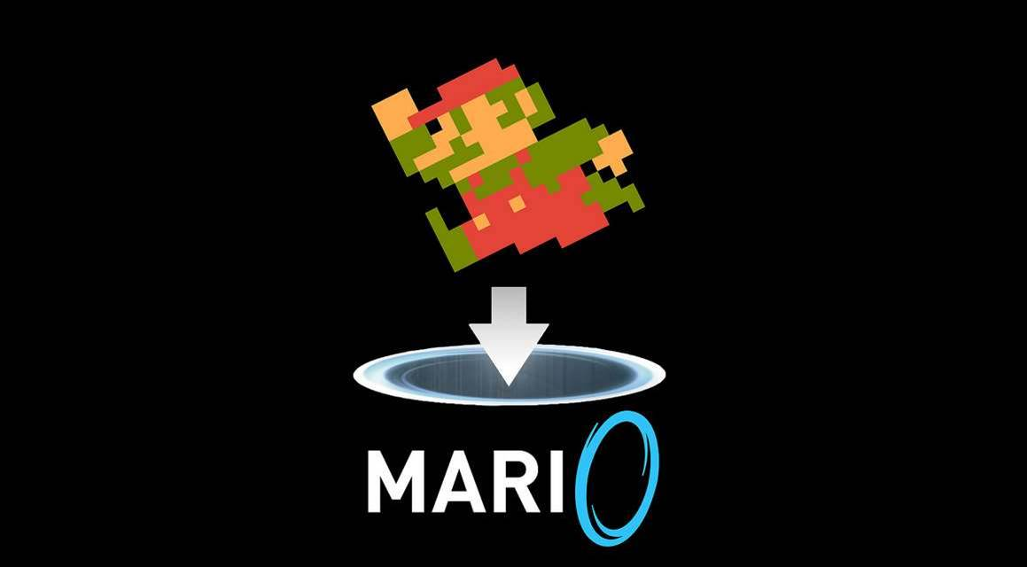 Time-waster of the week: Play Super Mario Bros with Portal guns