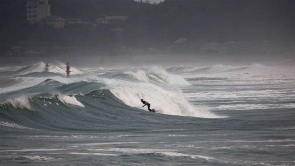 Locals Continue To Surf In Fukushima Despite Radiation