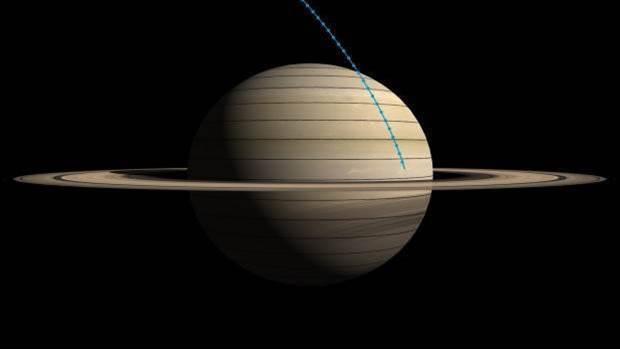 NASA's Cassini spacecraft has said its final goodbye to Titan