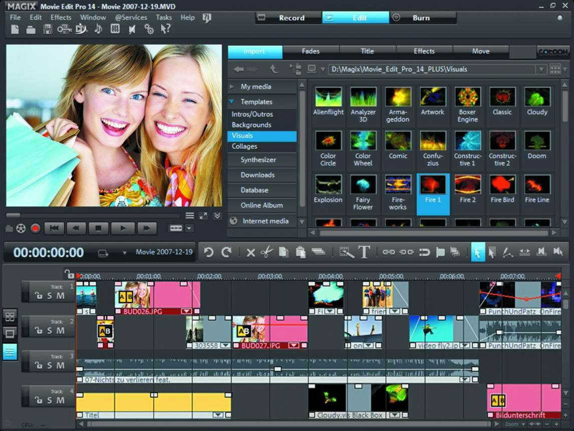 MAGIX releases Movie Edit Pro MX with improved performance