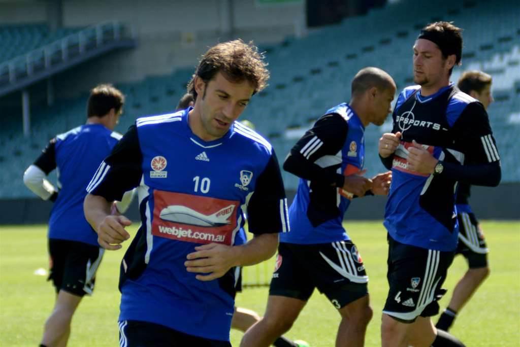Move On, Del Piero Tells Team-Mates