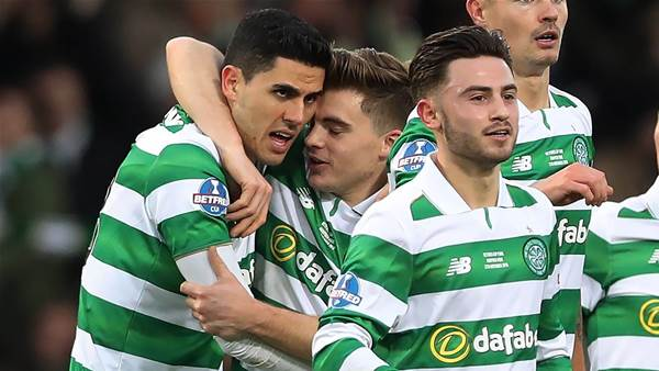 Tom Rogic scores belter in Old Firm derby