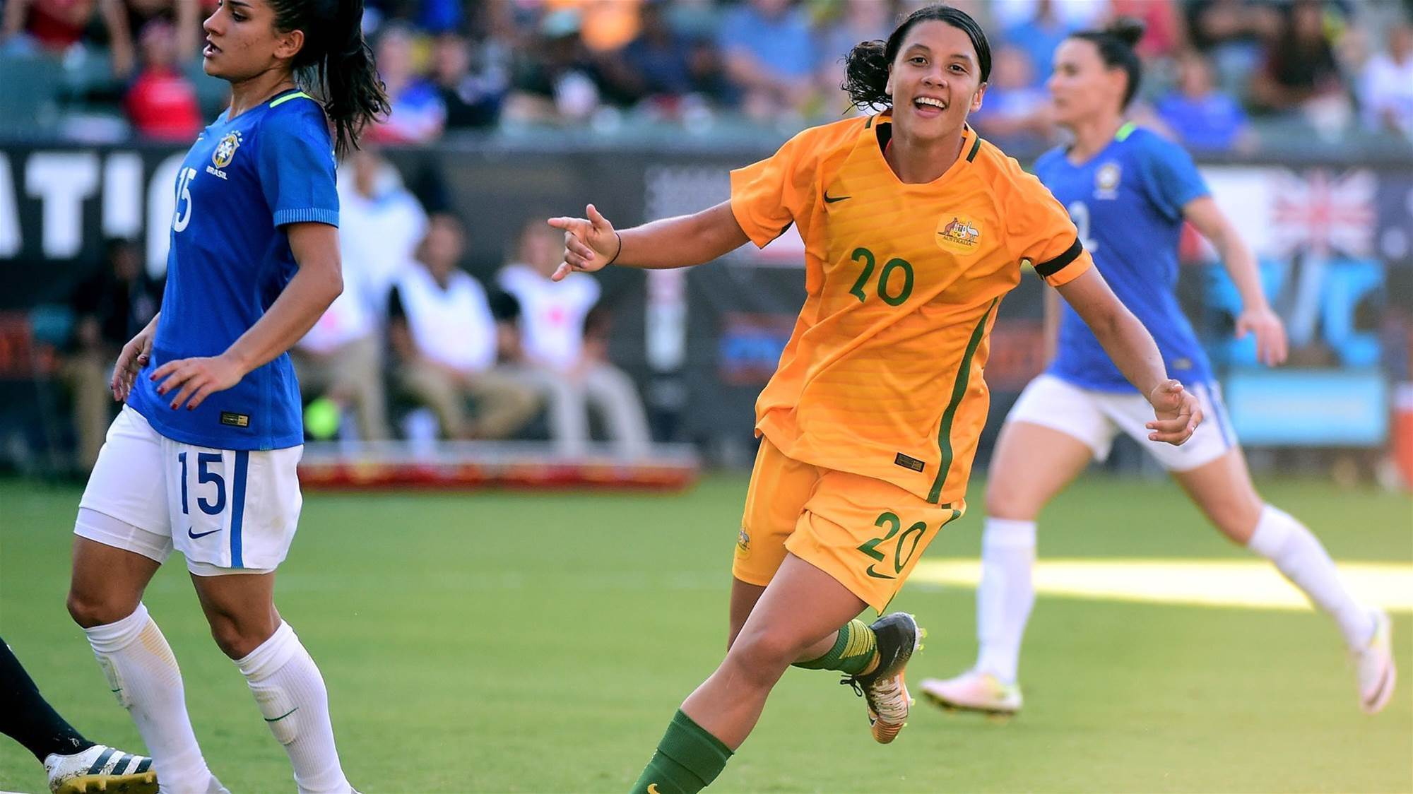 Sam Kerr aiming to smash U.S record
