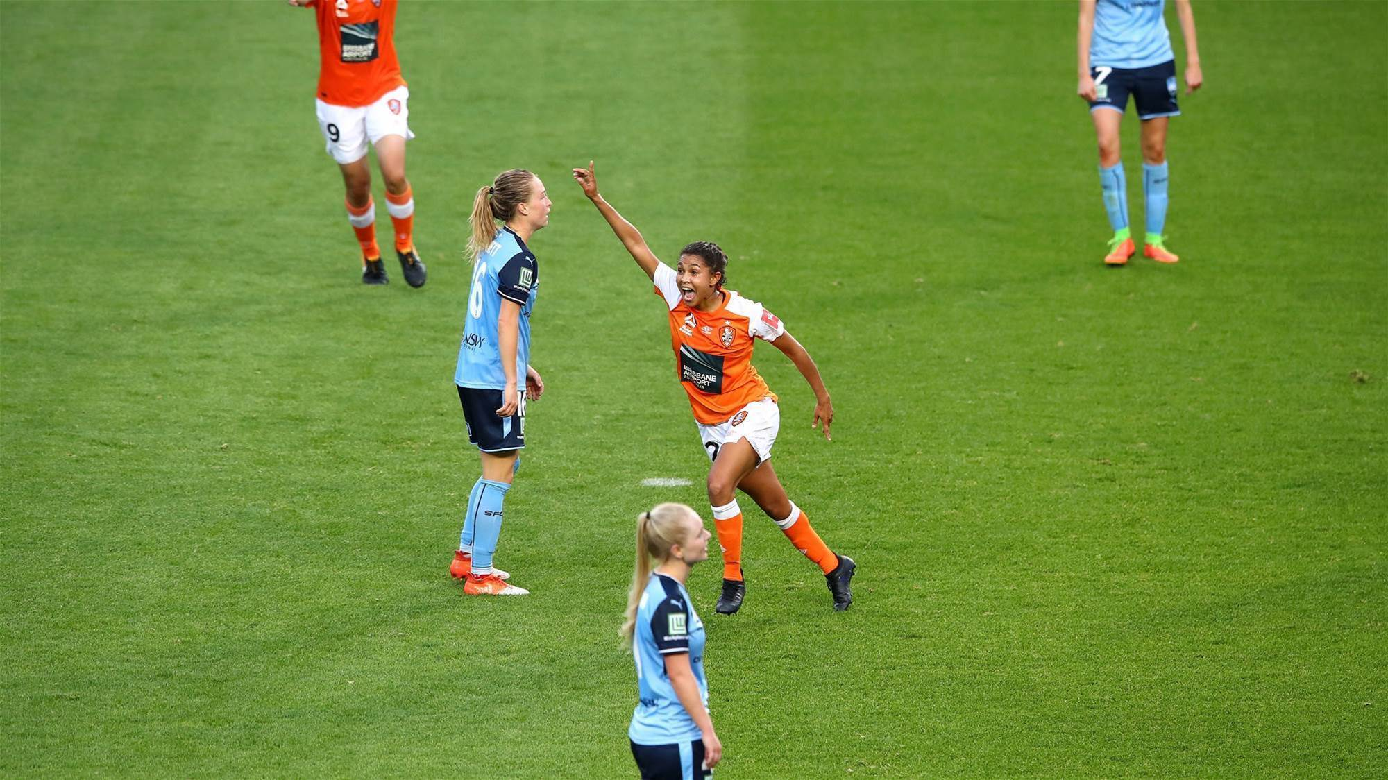 Brisbane Roar sweat out victory against Sydney FC