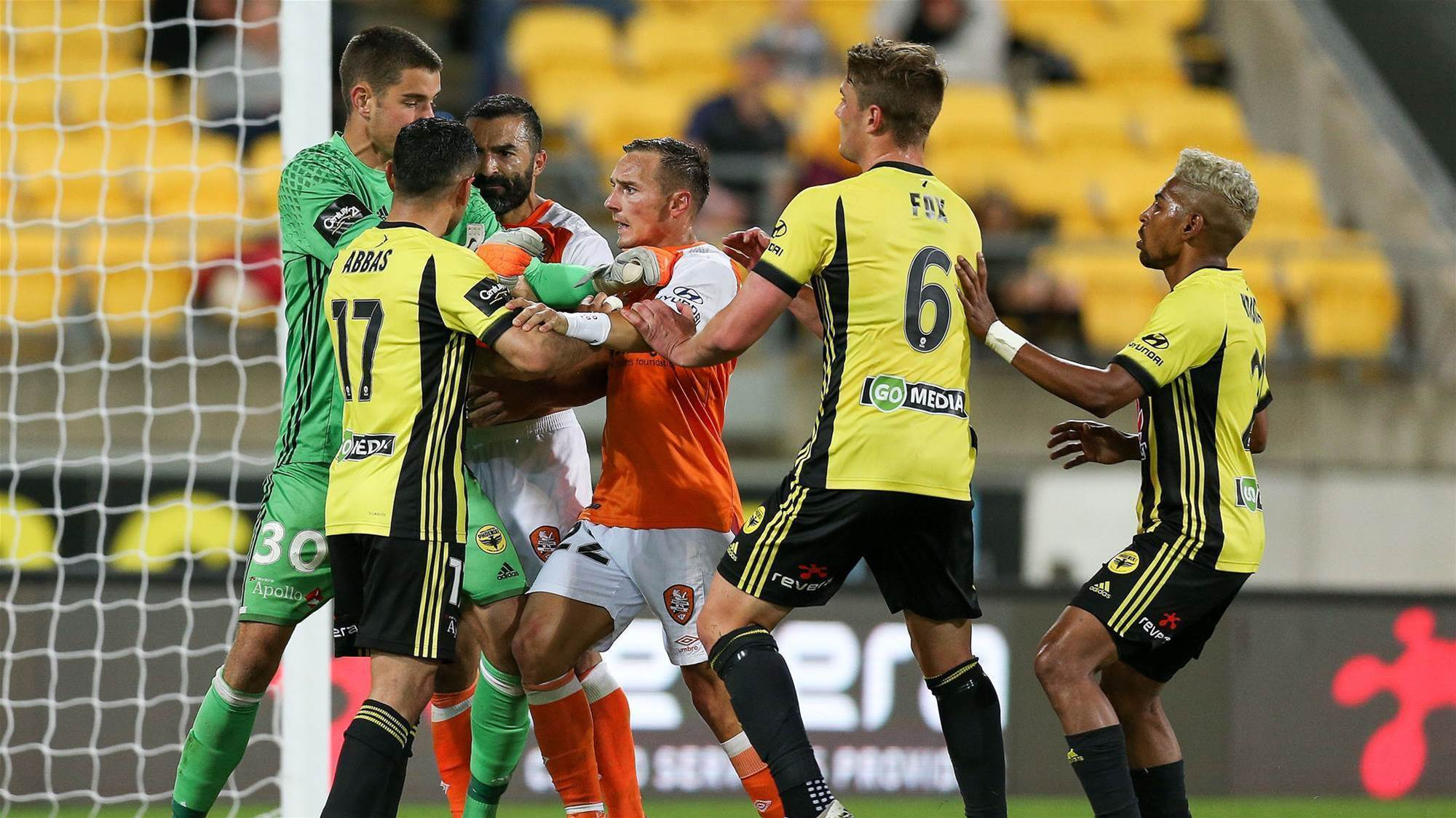Wellington Phoenix vs Brisbane Roar player ratings