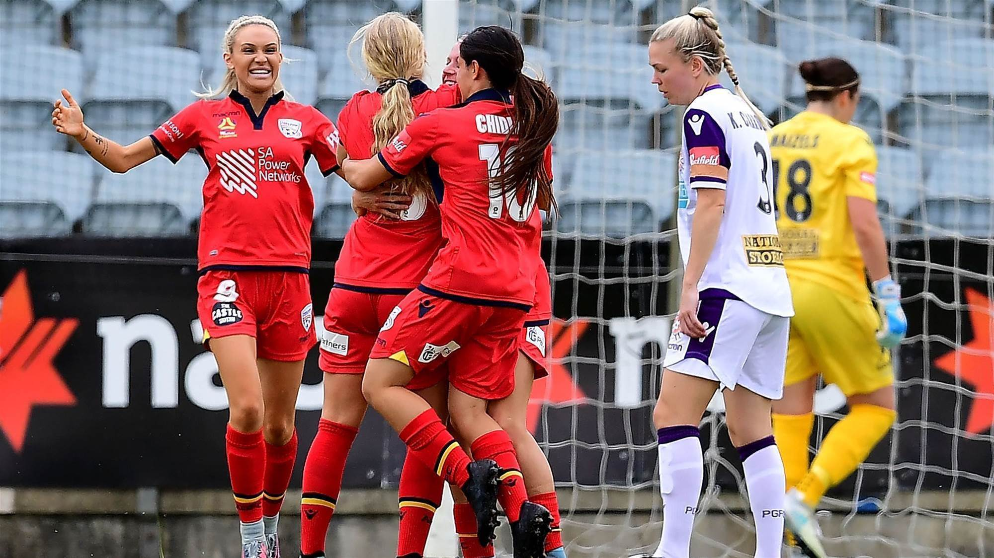 Doniak delights as Adelaide shock Perth