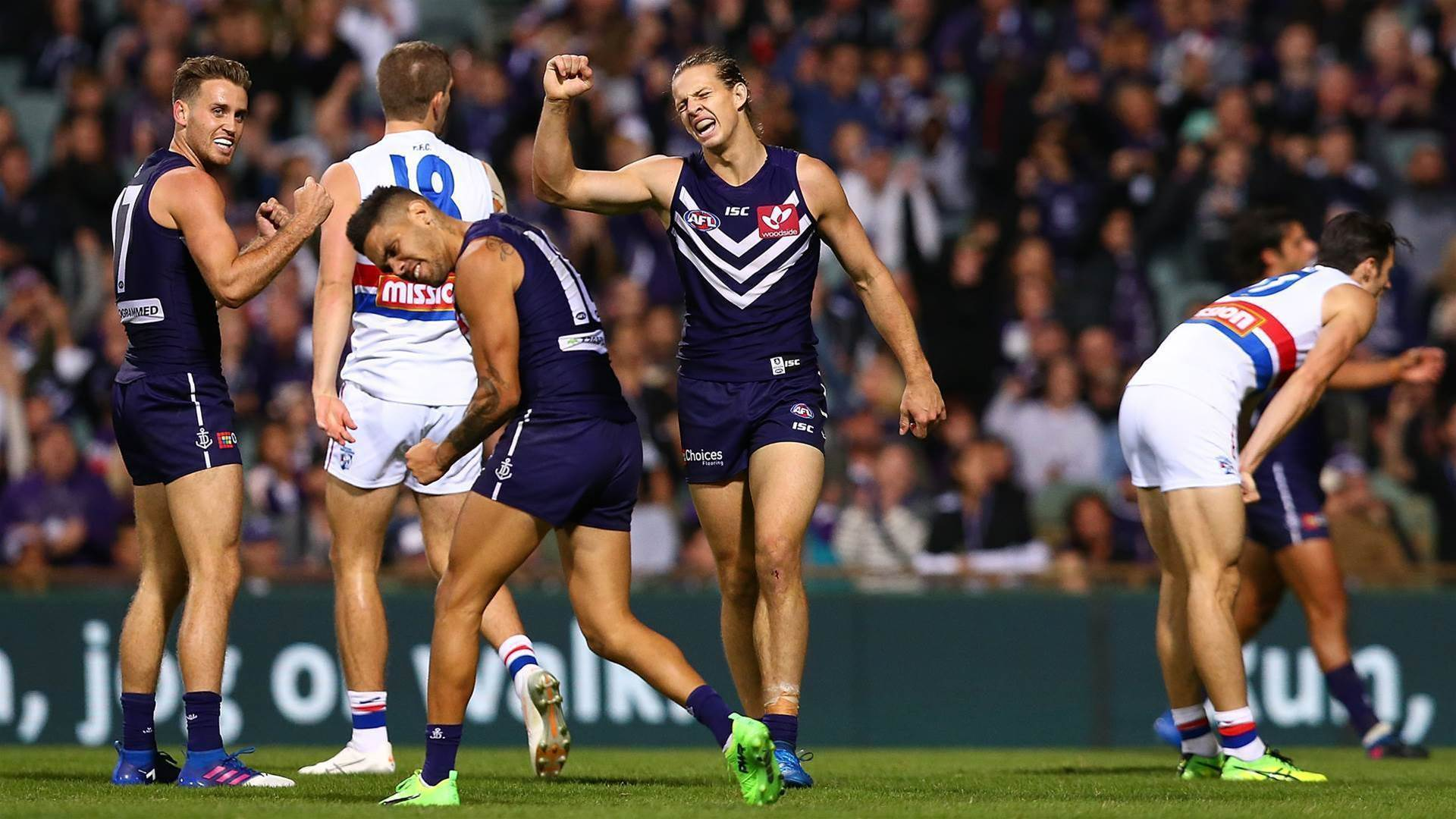 Dockers' surprise is just the tonic
