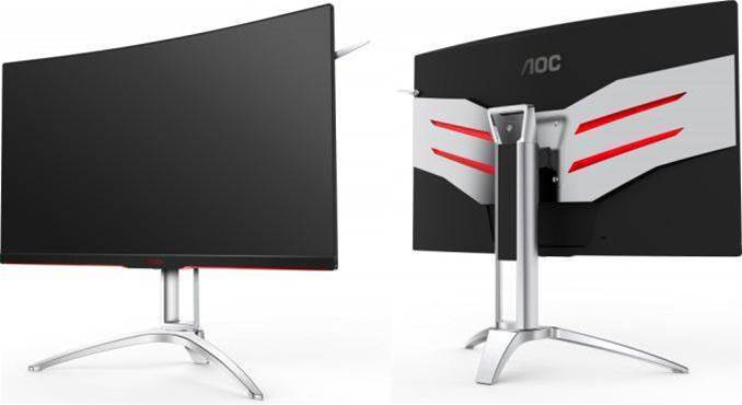 AOC releases a pair of impressive curved monitors
