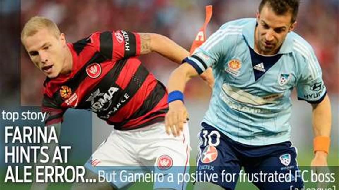 Farina hints at Del Piero derby error