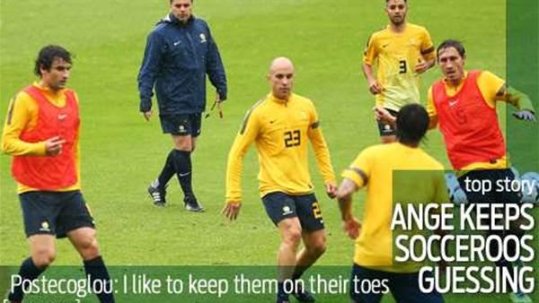 Postecoglou keeps Socceroos 'on edge'