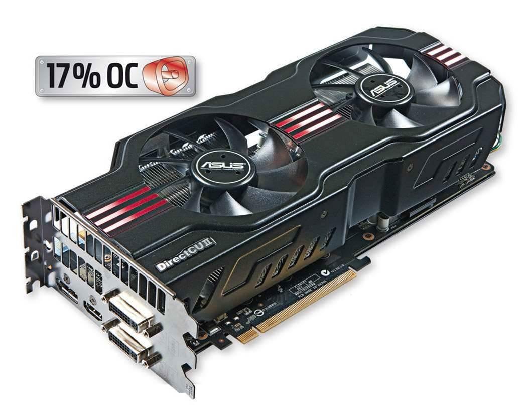 ASUS' DirectCU II GTX580 - power at a cost