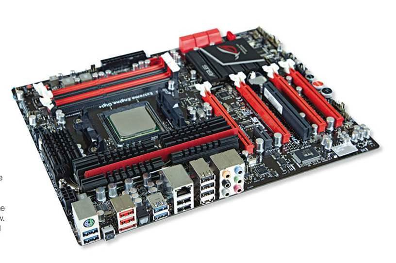 ASUS's Crosshair V Formula is a good mobo...