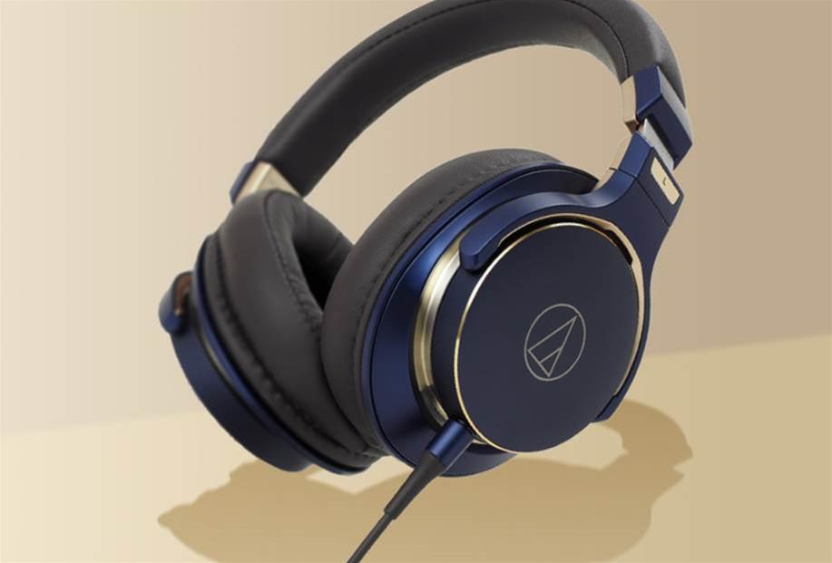 These Audio Technica headphones look great, sound even better