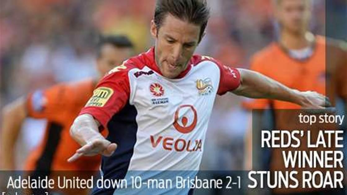 Adelaide win puts brakes on runaway Roar