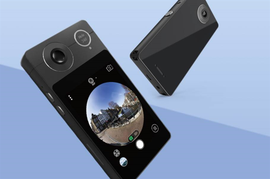 See what you shoot with Acer's new 360 pocket cam