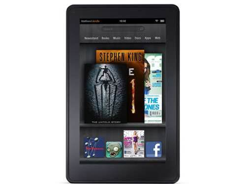 Amazon Kindle Fire 2 to get hi-res screen