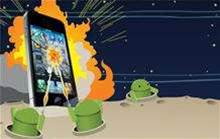Android overtakes Apple in mobile app wars
