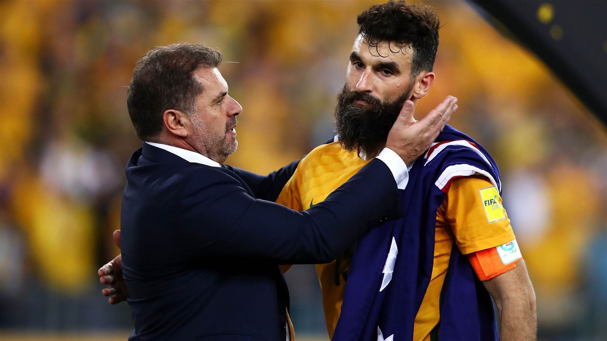 Australia kept guessing as Ange 'enjoys' the moment